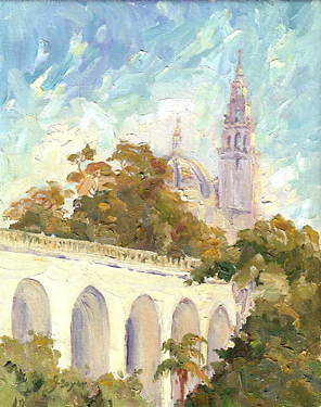 """Cabrillo Bridge View"" by Joan Boyer"